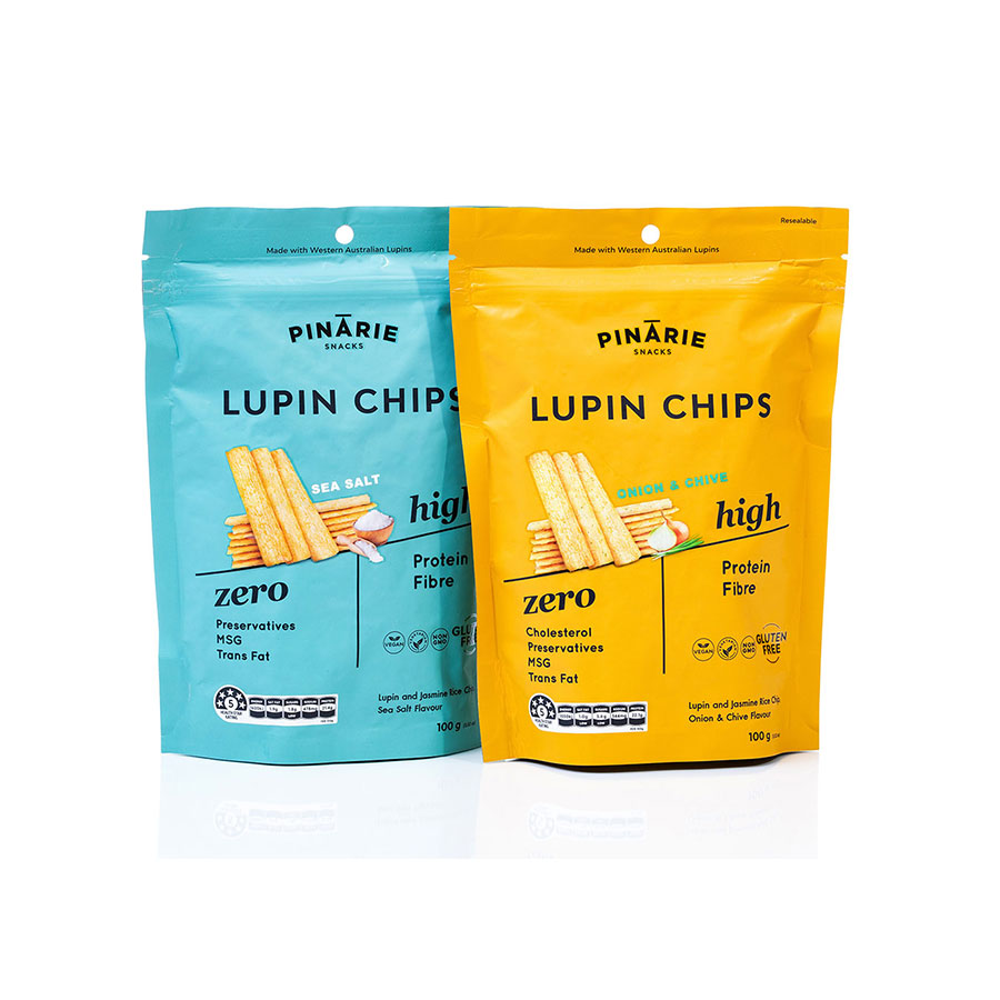 Pinarie Snacks - Lupin chips